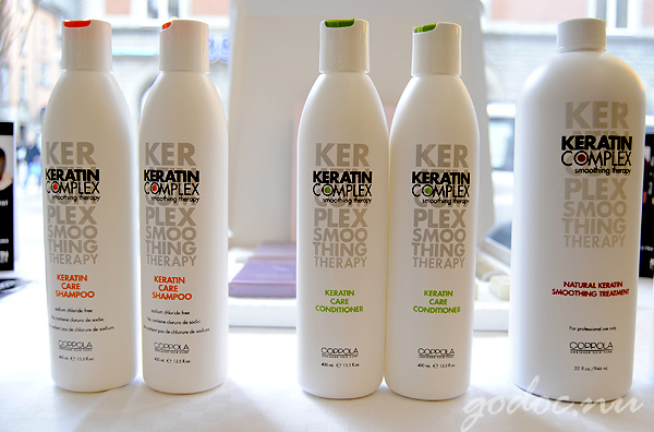keratin för håret